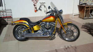 2007 Screaming Eagle Springer Softail  110 inch 6 speed