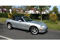 MAZDA MX-5 ICON - 12 months MOT 2005 Manual 75000 Petrol Silver Petrol Manual