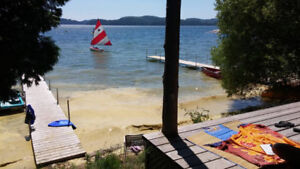Two cottages for rent with sauna! on warm lac heney