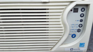 Quality window air conditioner cools your entire house / apartme