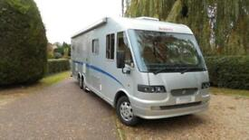Dethleffs Esprit Globetrotter 2006 Great specification, large rear garage