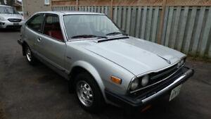 1981 Honda Accord hatchback *VERY LOW KM's*