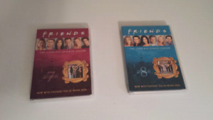 Seasons 7 and 8 of Friends on DVD