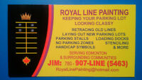 SPRING IS HERE – TIME TO PAINT YOUR PARKING LOT LINES