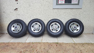 8 bolt Chev rims with tires