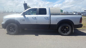 2014 Dodge Other Pickups Silver & Black Pickup Truck
