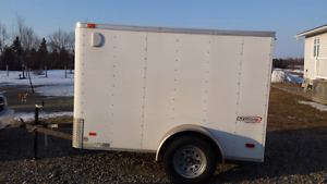 Perfect shape 3.5 year old utility trailer