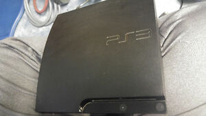 Ps3 console and 4 games