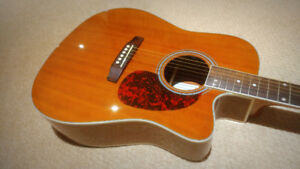 Acoustic Electric guitar - $185