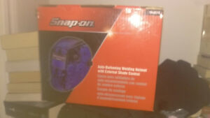 Casque a souder snap on