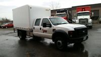 ** 2008 Ford  F450 With Box ( Optional ) ** Low Kms
