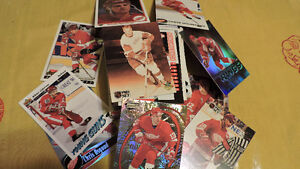 100 Different Detroit Red Wing Hockey Cards