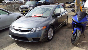 2009 Civic Sedan ((ONLY 115XXXkm)) Call or Text 209-9180