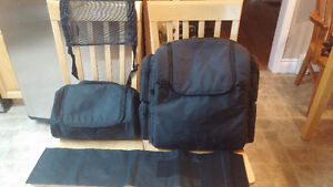 For Sale - Backseat / Sissy Bar Touring Bag with Mini Duffle Bag