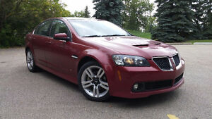 2009 Pontiac G8 V6 Leather Sedan