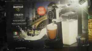 Martell stalista lattelux expresso capsule system still in box