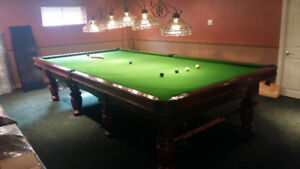 6 x 12 Dufferin Snooker Table - Great Condition