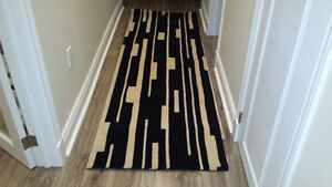 Wool rug runners
