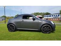 2012 MINI COOPER COUPE,LOW MILEAGE 24K,TOP SPEC, £3000 WORTH OF EXTRAS,SWAP,PX