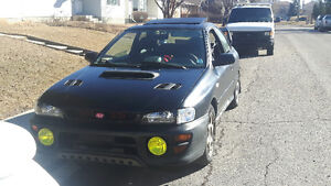 2000 LHD Subaru Impreza Coupe 2.5 5spd, lots of goodies