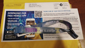 Only ONE Remaining | Full Access Youth Bluesfest Pass
