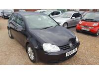 Volkswagen Golf 1.6 FSI ( 115PS ) 2007MY Match Full Service History,Hpi Clear,AC