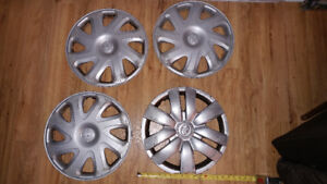"4 Wheel Covers for 2001 Corolla, 15"" Diameter"