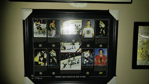 $75-Bobby Orr pic an Rookie card 4 sale....