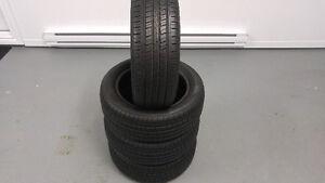4 pneus d'été 185/55/15 comme neufs à vendre