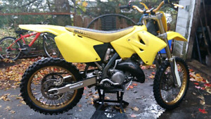 Looking for a motocross bike