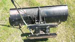 Lawn tractor or quad snow blade