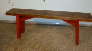 Harvest Table Bench
