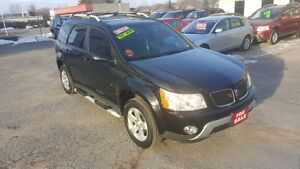 2009 PONTIAC TORRENT SUV *** BLACK on BLACK *** CERT $6995