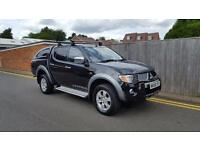 Mitsubishi L200 2.5 DI-D Warrior Double Cab 4WD 4dr SNUG TOP NO VAT AUTOMATIC 06