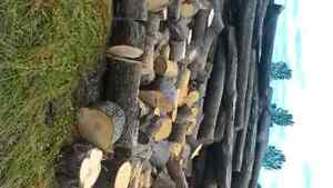 FIREWOOD HARDWOOD CHUNKS OR SPLIT London Ontario image 1