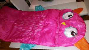 New child's pet sleeping bag