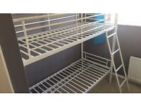 Shorty bunk beds and one mattress