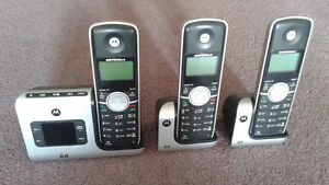 Motorola 6.0 Digital Cordless Phones