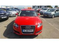 2010 Audi A3 Hatch 3Dr 1.6 102 Technik Petrol red Manual