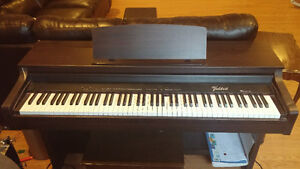 Valdesta digital piano with weighted keys