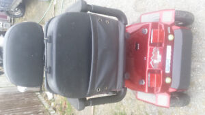 07 electric scooter Fully loaded newer batteries and cover with