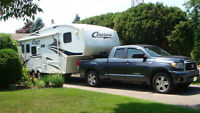 Trade 2010 Tundra and  5th Wheel trailer for Class B motorhome