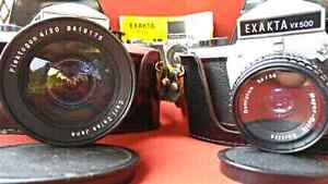 EXAKTA VX 500 Camera's 1969/70 German Made, SLR 35mm w/ Acc London Ontario image 2