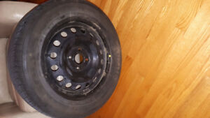 5 - 4 bolt Rims with R15 tires