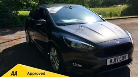 2017 Ford Focus 1.0 EcoBoost 125 ST-Line with Manual Petrol Hatchback