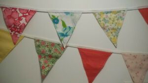 Bunting for Babies and Children's Parties