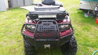 2009 kawai 750 brute force...new tires rims...new winch..bison b