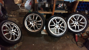 """Rays 19"""" forged wheels"""