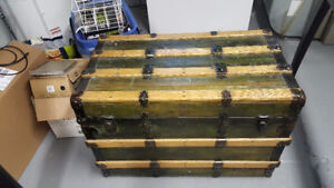 Beautiful Antique Treasure Chest - REPRICED!