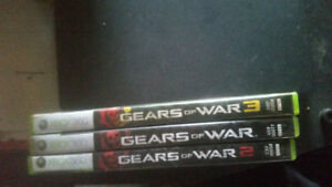 Xbox 360 gears of War games